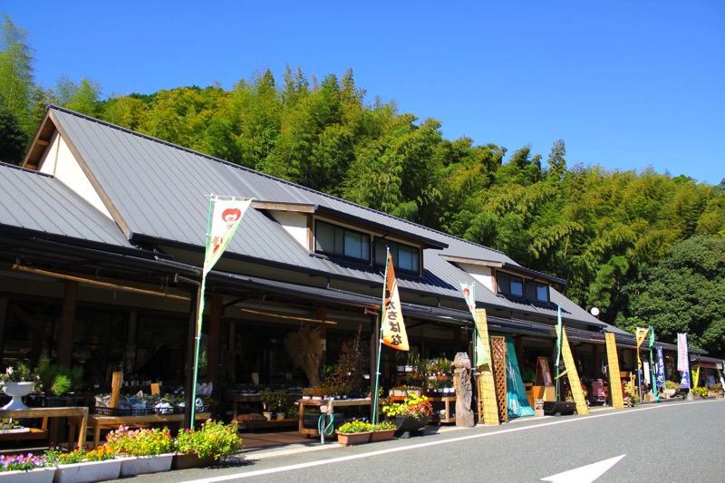 お茶の町 福岡県八女市の道の駅「たちばな」