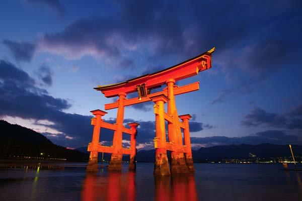 二つの世界遺産がある広島県!