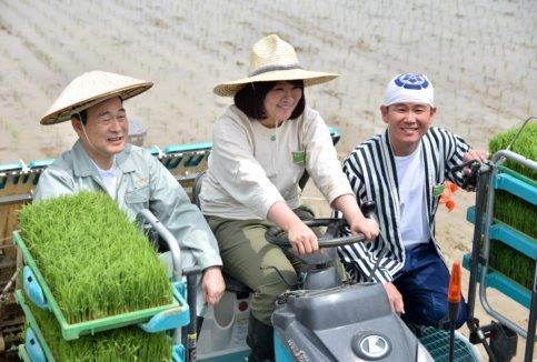 農業で住みます芸人in長岡(動画あり)