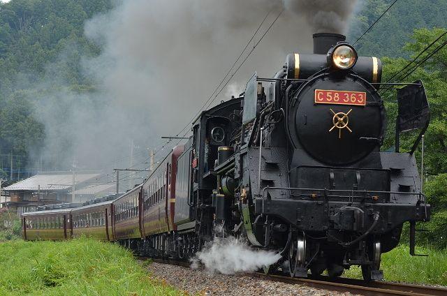 蒸気機関車の旅にでよう!