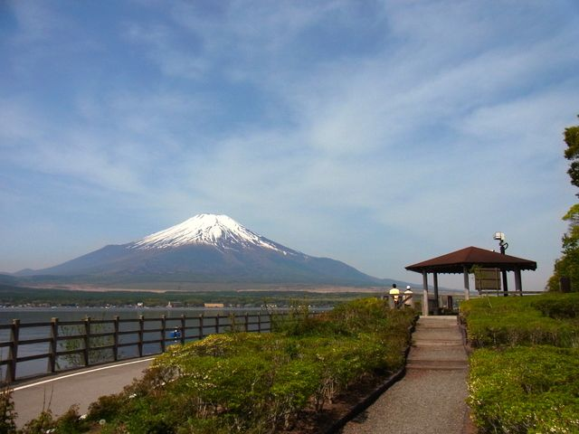 日本一の山、富士山を満喫!道の駅「すばしり」
