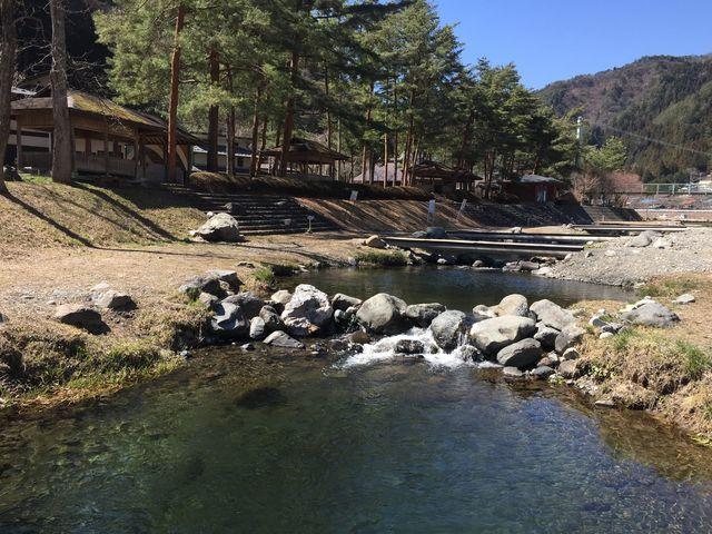 丹波山村村営つり場