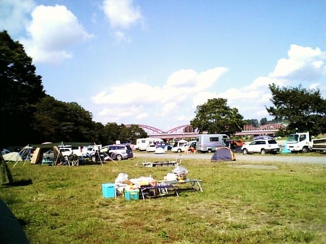 キャンプができる道の駅「かつら」