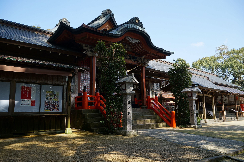薩摩国でもっとも格式ある神社を巡る 「道の駅 樋脇」