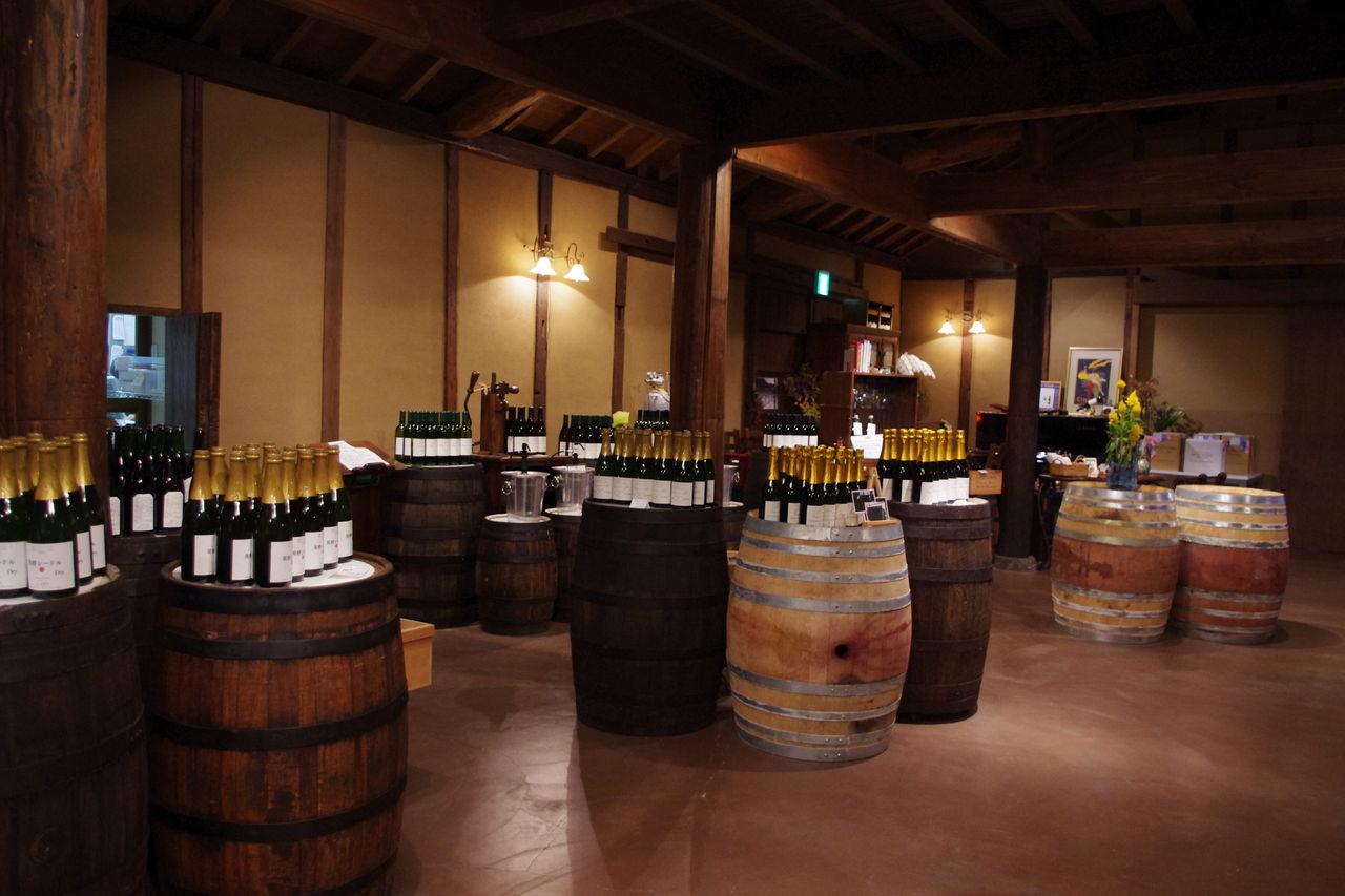 ワイン好きにはたまらない小布施ワイナリー 「道の駅 オアシスおぶせ」