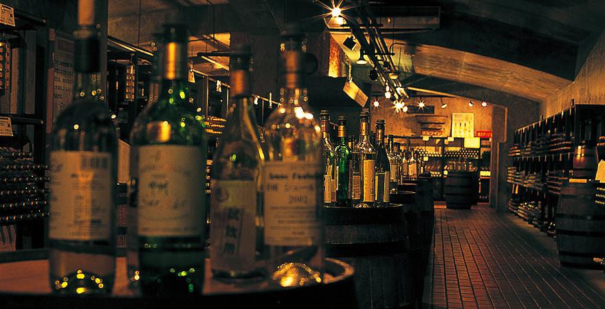 ぶどうの丘 ワインカーヴ