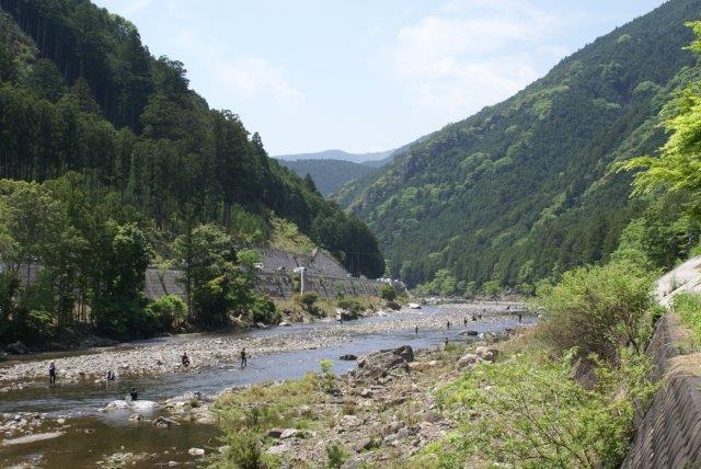 日本一美しい宮川で渓流釣りを体験