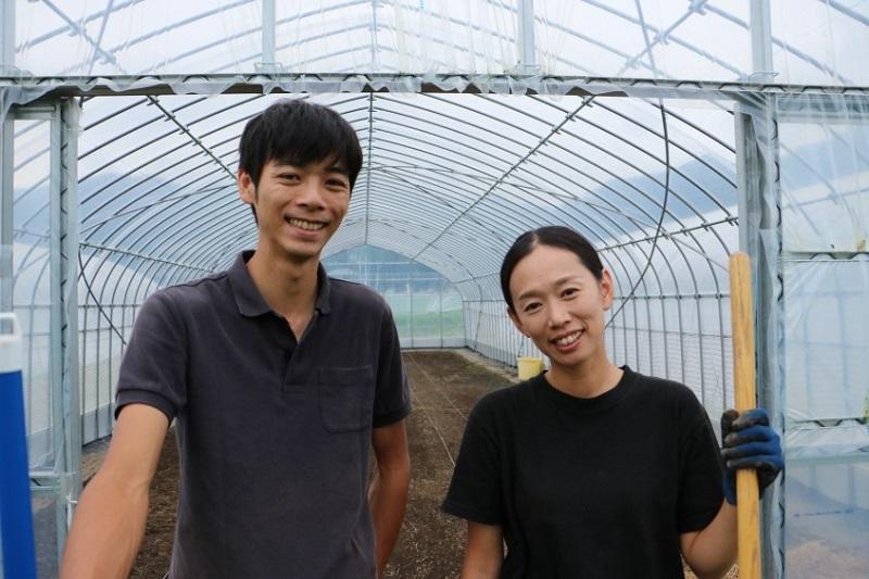 大台町には道の駅に直営農園がある!そこで働く2人の若者とは?