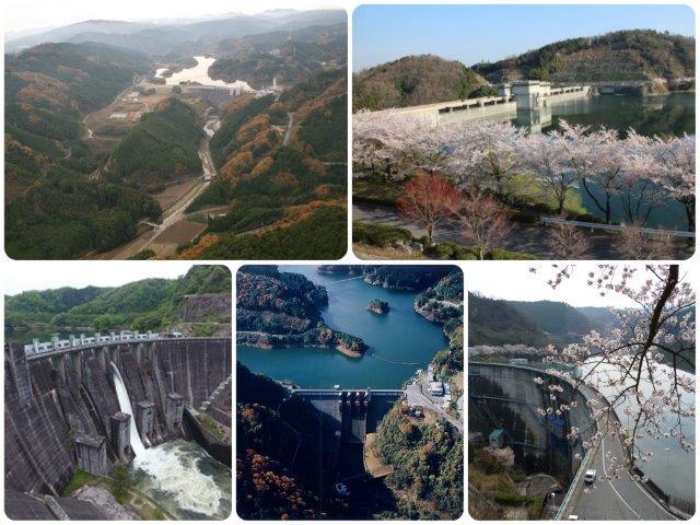 木津川流域のダムを巡ってみよう。
