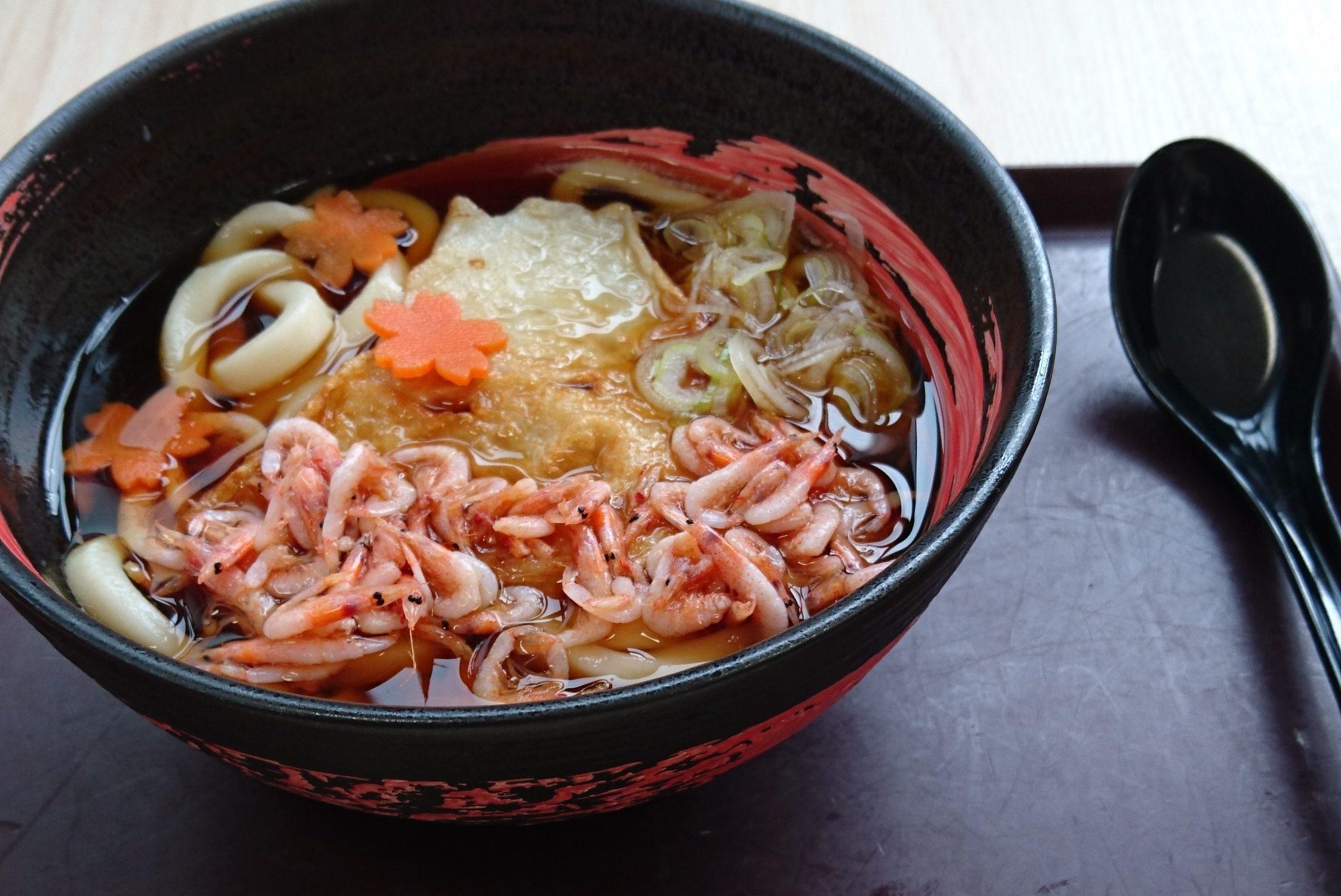 食べたら金太郎のように力が湧いてくる?!~道の駅 すばしり 富士山ごうりきうどん~