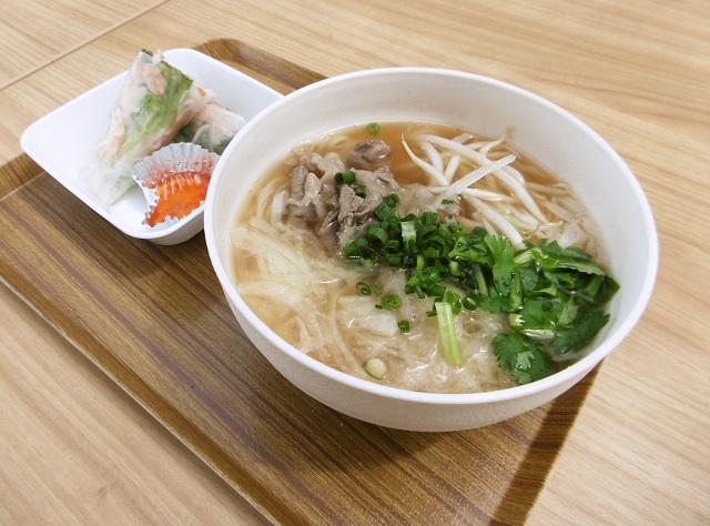 【道の駅 いたこ】日本初の生麺「米粉生麺フォー」