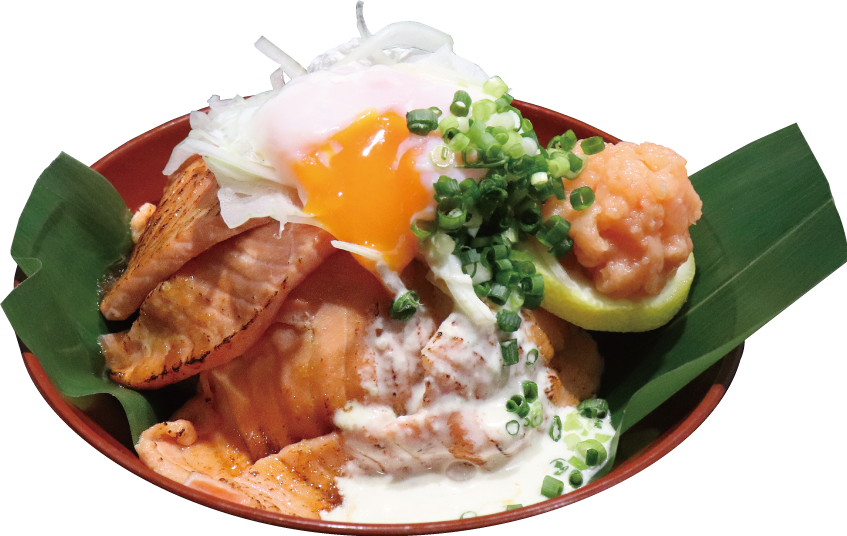 【道の駅 万葉の里高岡】これぞビジュアル系めし「トロッと炙っちゃい鱒丼」
