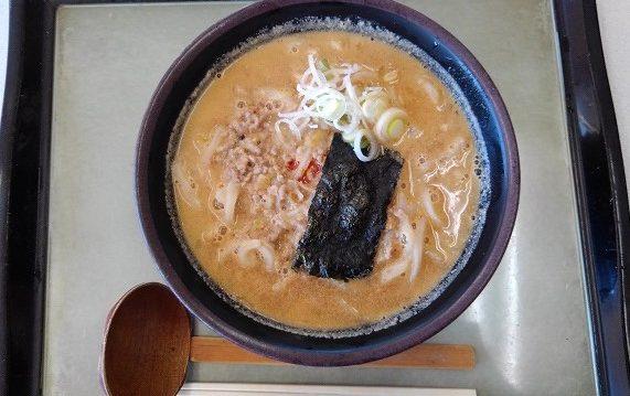 【道の駅 庄和】「黒豆辛味噌うどん」