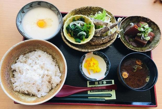 【道の駅 藤川宿】「むらさき麦とろご飯」