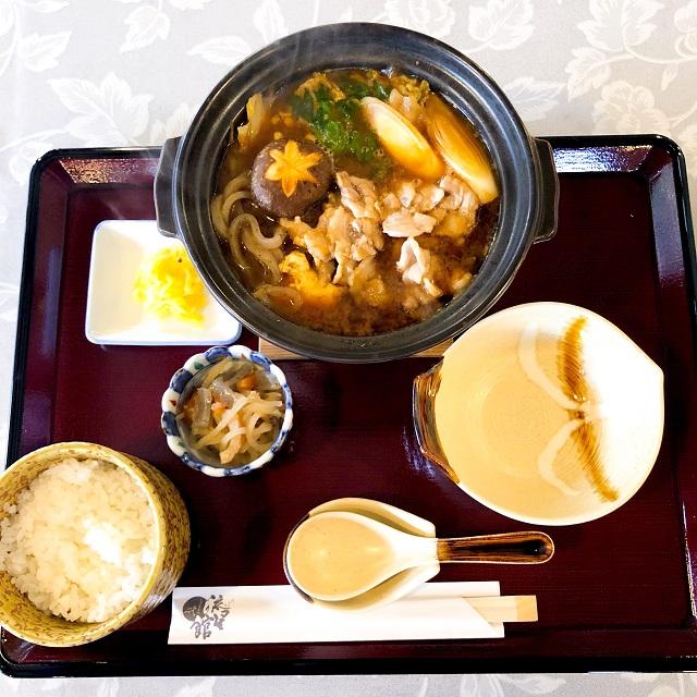 【道の駅 名田庄】「ぼたん鍋定食」