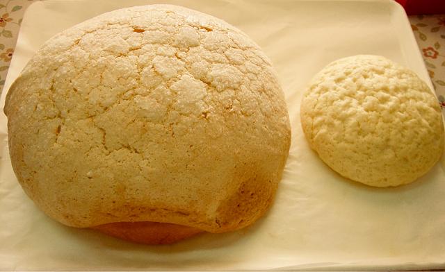 【道の駅 平成】「大きなメロンパン」